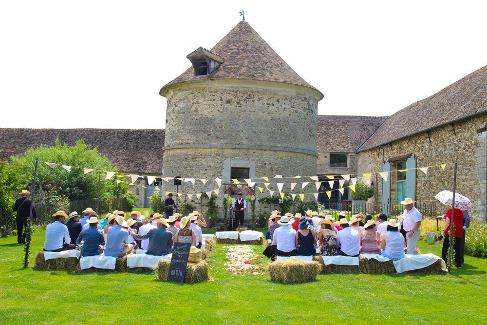 cérémonie laîque champêtre à  Mauvoisin