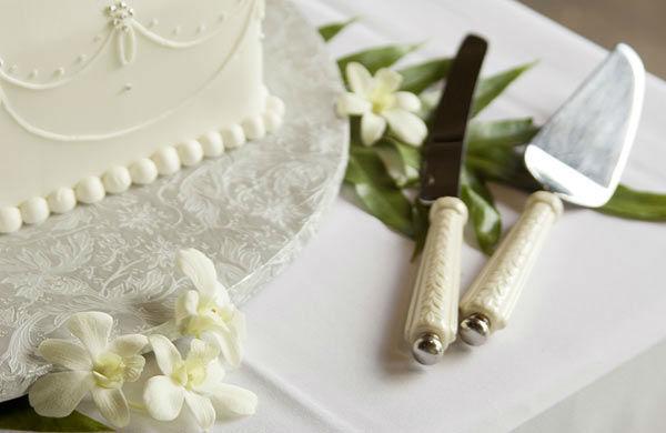 Beispiel: Hochzeitstorte, Foto: Gerstner Catering.