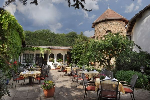 Beispiel: Terrasse, Foto: Landhaus Klosterwald.