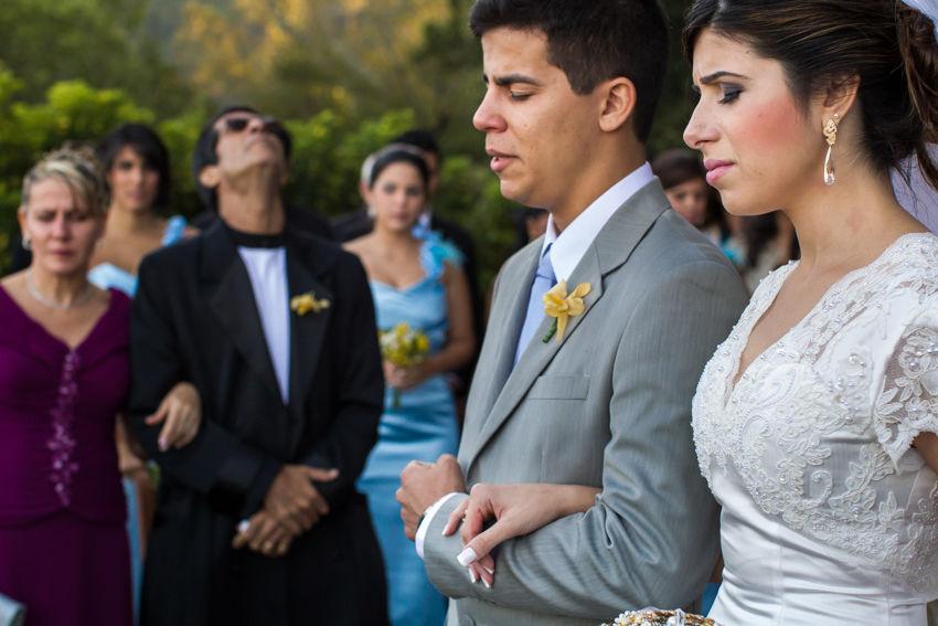 Viviane, Vinicius e seus pais. todos muito emocionados.