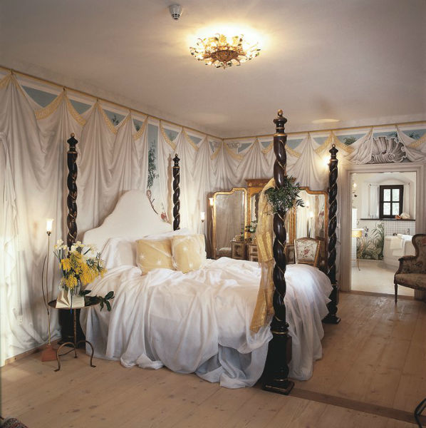 Beispiel: Himmelbett, Foto: Burg Wernberg.