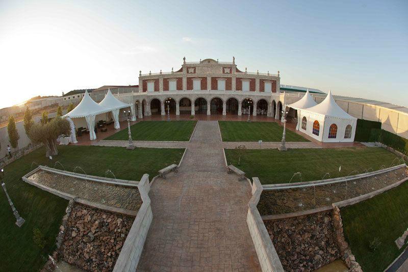 los jardines de palacio bodas On los jardines de palacio
