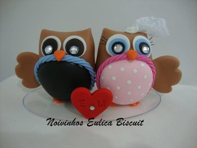Eulica Noivinhos Biscuit