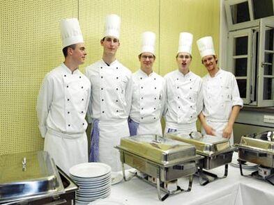 Beispiel: Catering-Service, Foto: Buhlsche Mühle.