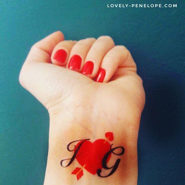 Tattoos Personnalisés Lovely Pénélope