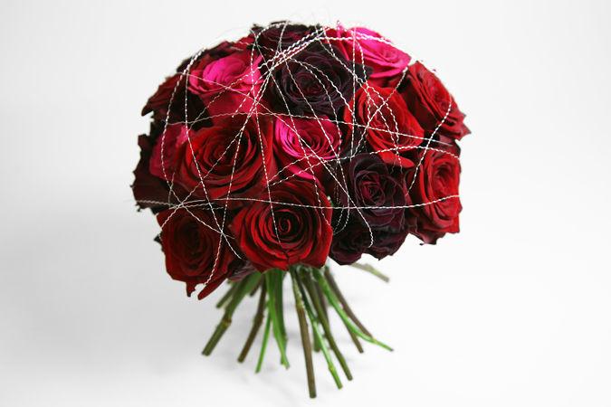 Beispiel: Kreativität und Stil, Foto: Marsano Blumen.