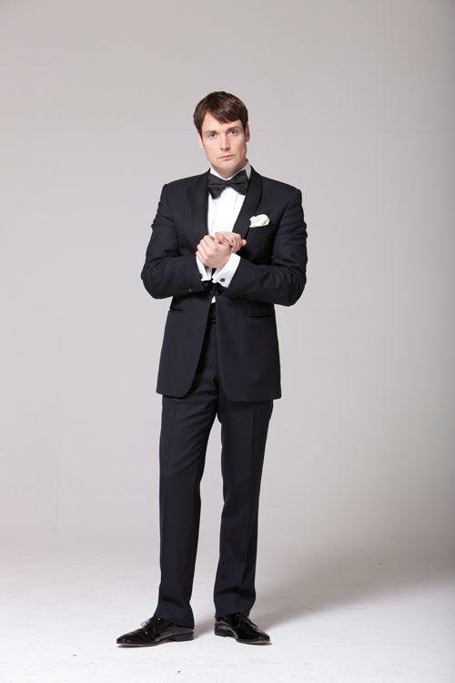 Beispiel: Ihr persönlicher Hochzeitsanzug, Foto: Herrchen.