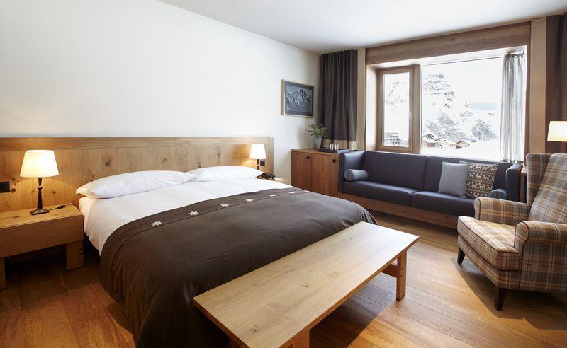 Beispiel: Hotelzimmer, Foto: Hotel frutt LODGE & SPA.