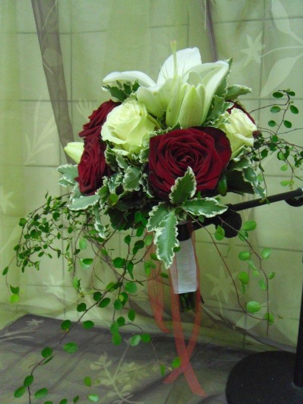 Beispiel: Brautstrauss, Foto: Blumen Katja Lang.