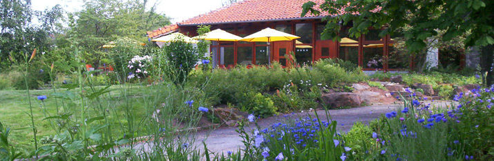 Beispiel: Terrasse und Garten, Foto: Hohenwart Forum.