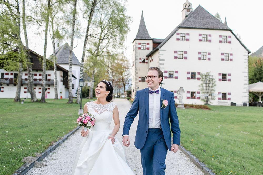 Heiraten auf Schloss Prielau
