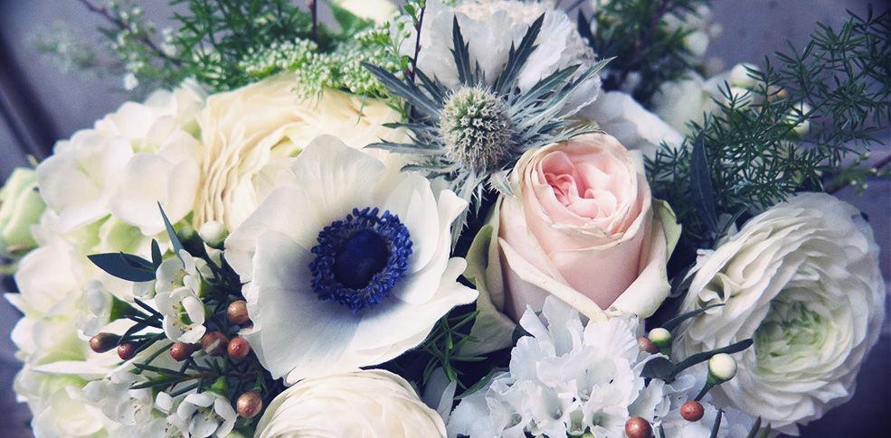 Herbes Fauves - Bouquet de mariée d'hiver