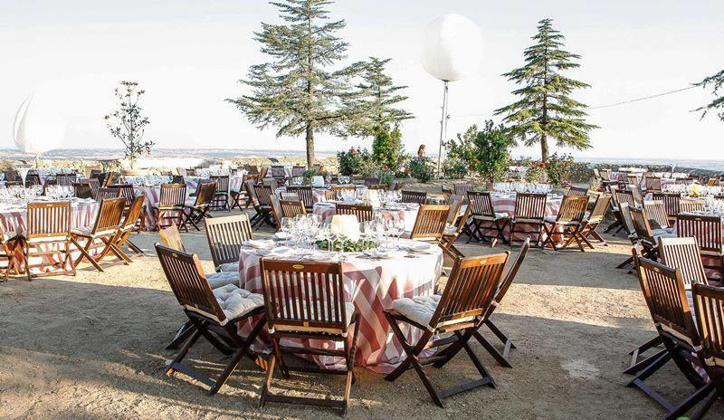 Montaje de Banquete en exterior