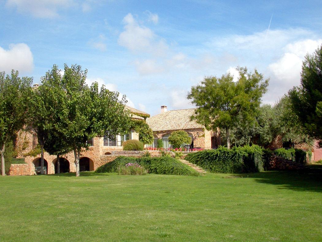 La casa desde la pradera