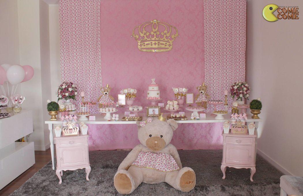 Come Come Festas - Tema Ursa Princesa