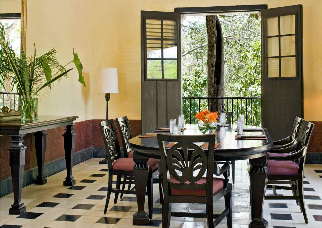 Hacienda Uayamon, hotel para celebrar tu boda ubicado en Campeche.
