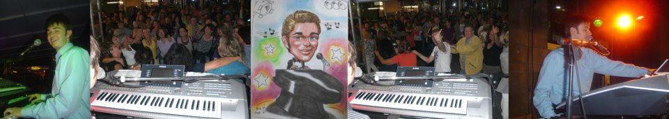 Beispiel: Florian Geibel - The Pianoman, Foto: Florian Geibel - The Pianoman.