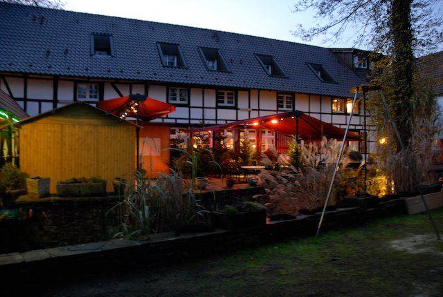 Beispiel: Terrasse, Foto: Hotel Loemühle.