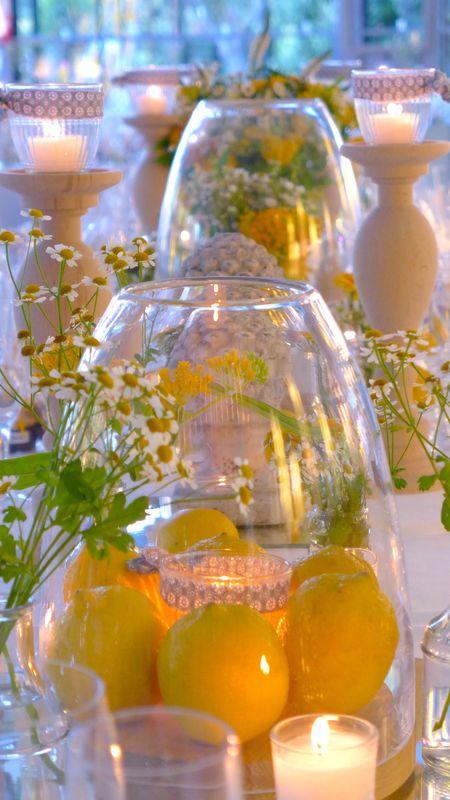 GoodMoon - Mariage jaune citron - gris  avec Bois