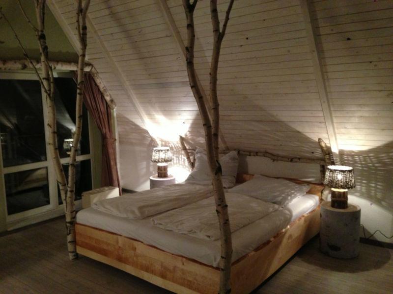 Beispiel: Zimmer, Foto: Seelodge Kremmen.