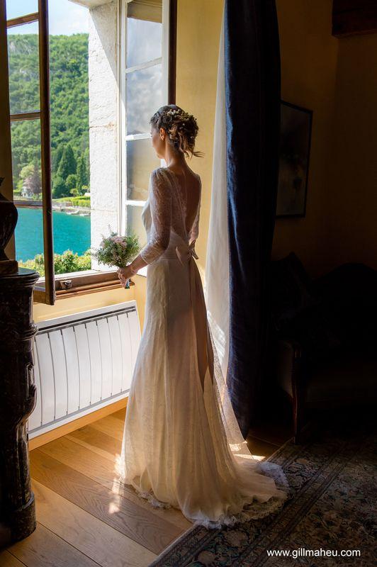 Préparatifs mariée - Abbaye de Talloires