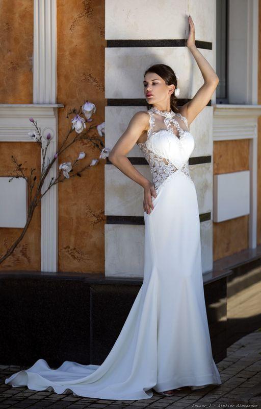 Abito da sposa modello Lenor, collezione Romantica