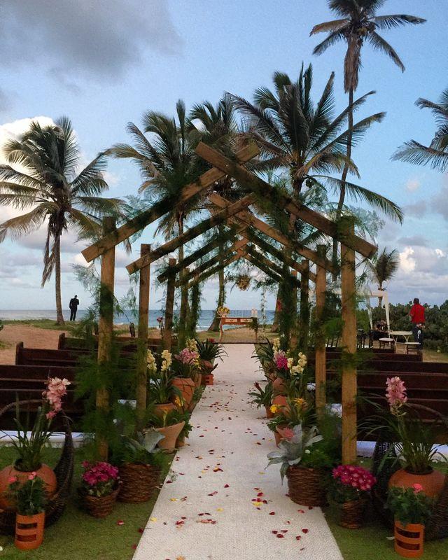 Sonho de casar na praia!