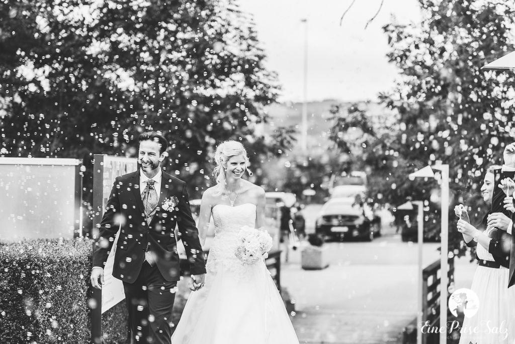 Hochzeitsreportage: Hochzeitsempfang