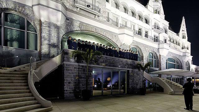 Beispiel: Eingang, Foto: Park Hotel Vitznau.