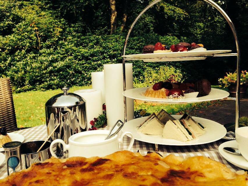Beispiel: Kaffee und Kuchen, Foto: Landhaus Höpkens Ruh.