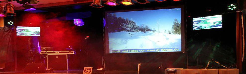 Beispiel: Multimedia-Gestaltung, Foto: DJ Heroes.