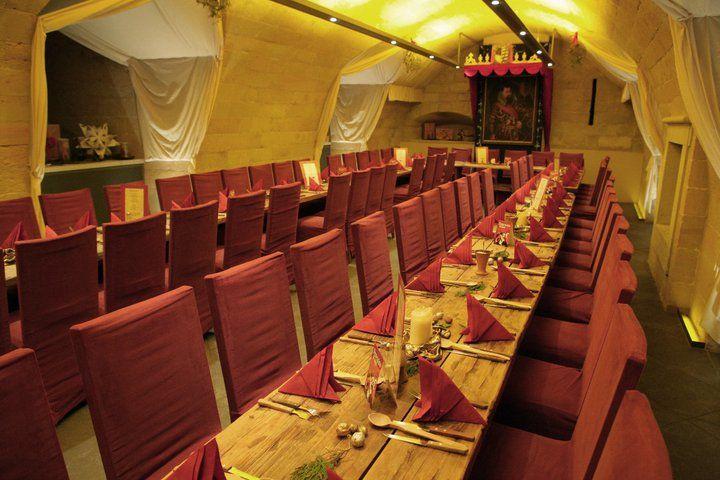 Beispiel: Restaurant (Kasematten), Foto: In den Kasematten.