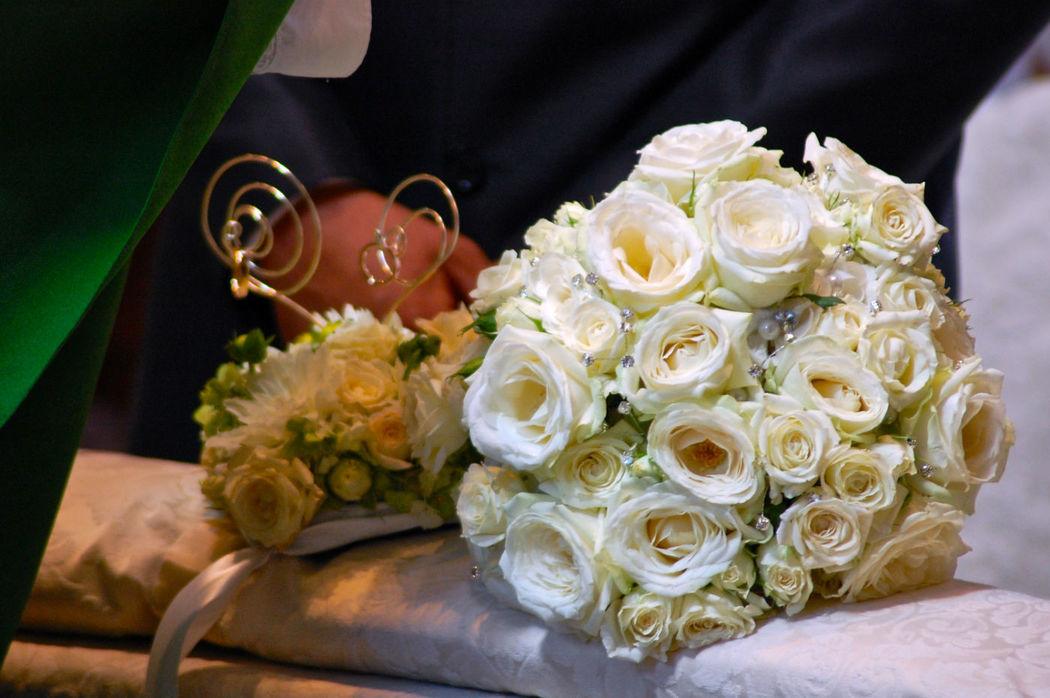 Bouquet e porta fedi