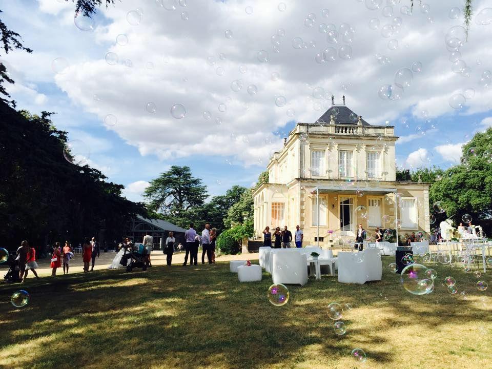 Villa Emma Poitiers Machine à bulles au cocktail