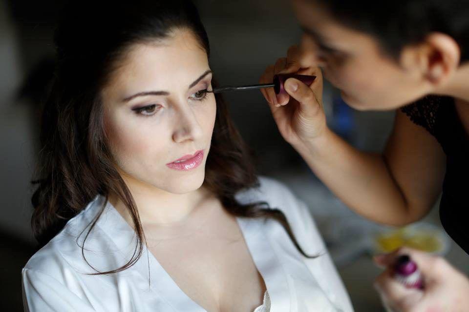 Lydia Arjona Make Up.Maquillaje con aerógrafo.