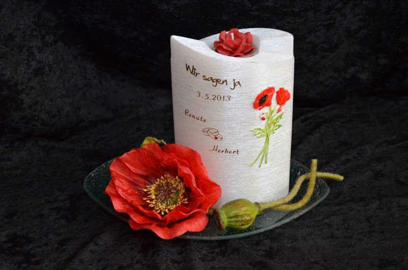 Beispiel: Kerzen als Geschenkideen, Foto: MK - Meine Kerze.