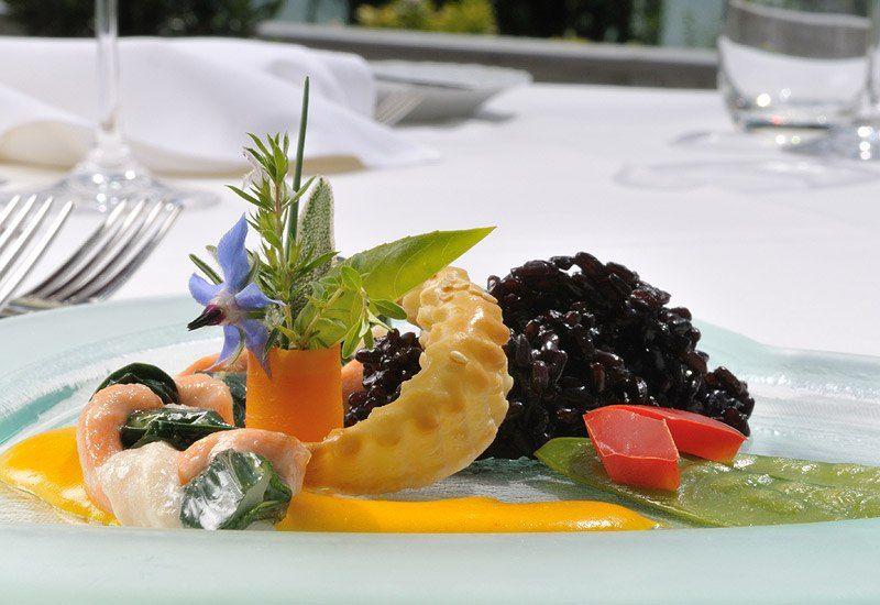 Beispiel: Kulinarische Genüsse, Foto: Parkhotel Waldheim am Sarnersee.