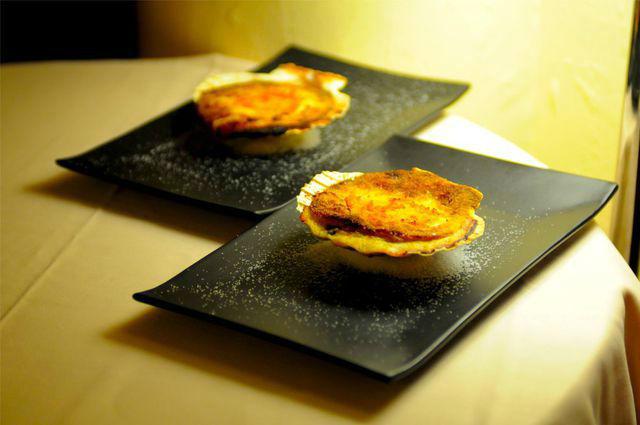 Gastronomia: Vieira Gratinada