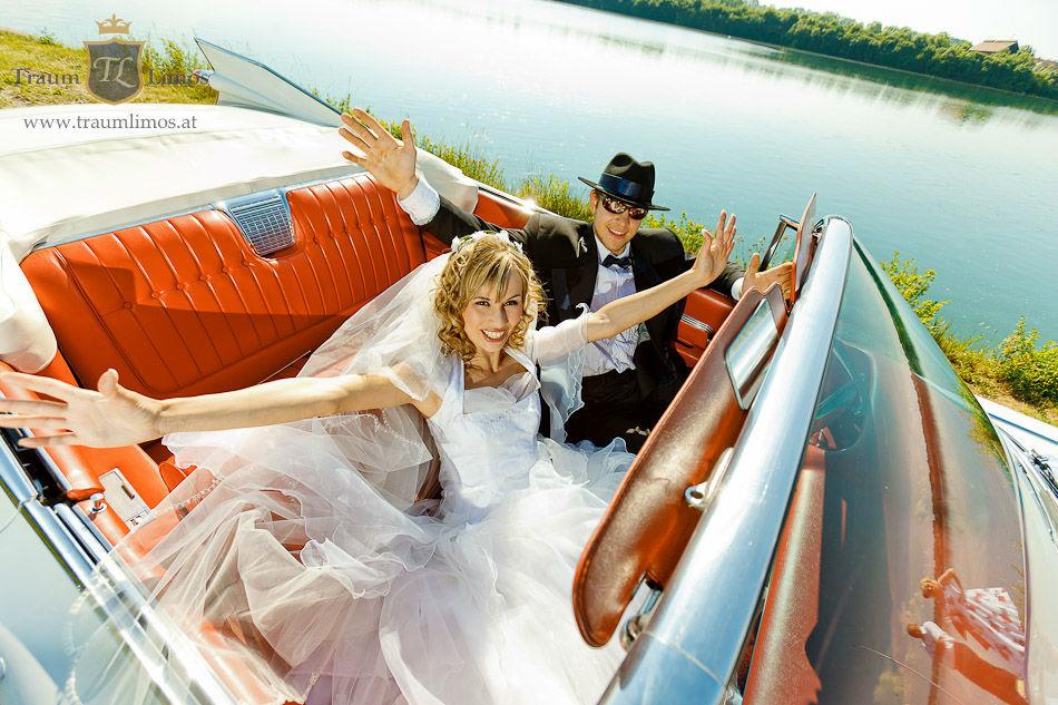 Beispiel: Ihr Traumauto zur Hochzeit, Foto: Traumlimos.