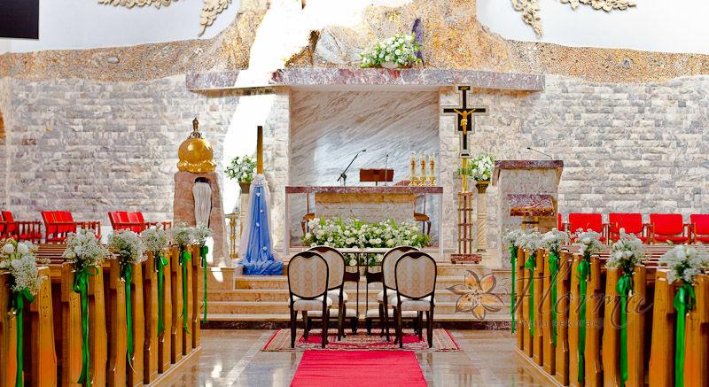 Dekoracja kościoła Michałowice