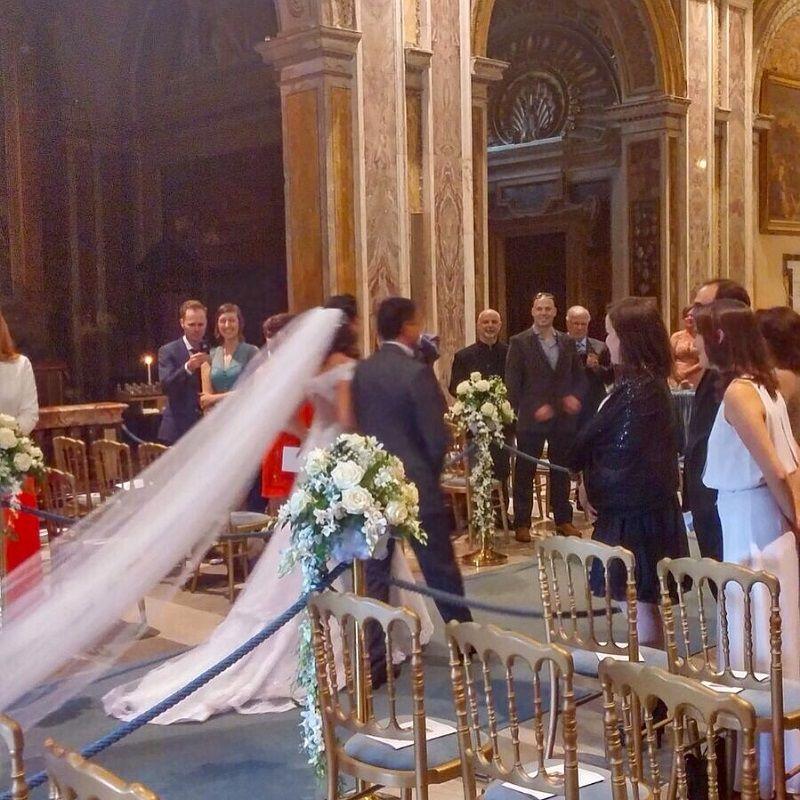 William e Fanny a Santa Francesca Romana