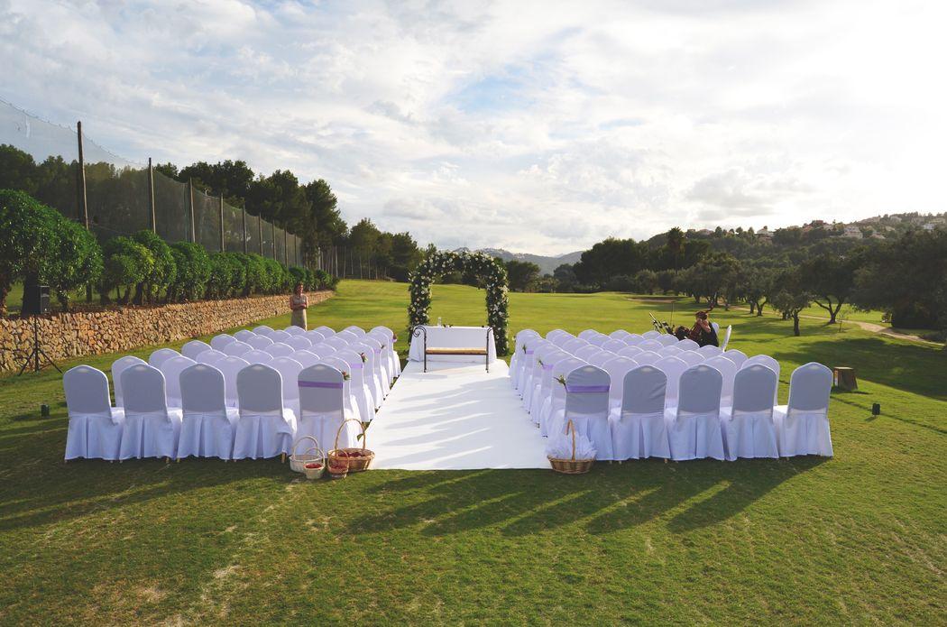 Ceremonias en el Campo de Golf La Sella