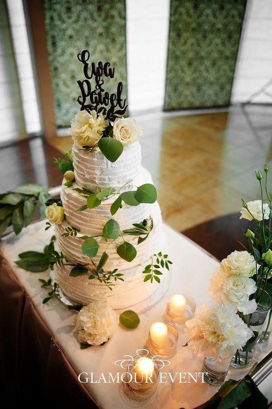 Tort w stylu rustykalnym fot. Radek Radziszewski