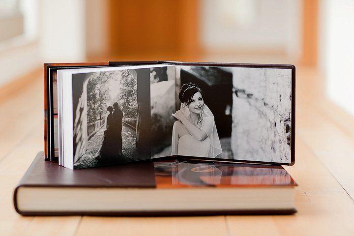Beispiel: Hochzeitsalbum, Foto: Ronny Barthels.