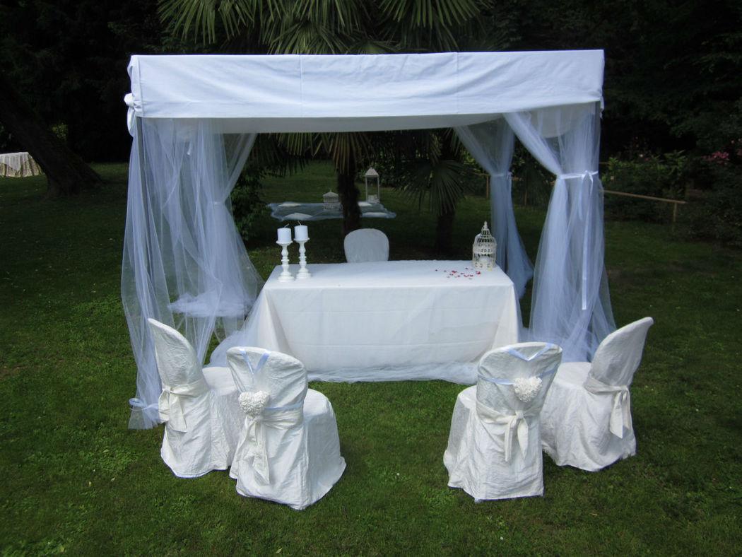 Il matrimonio civile all'esterno