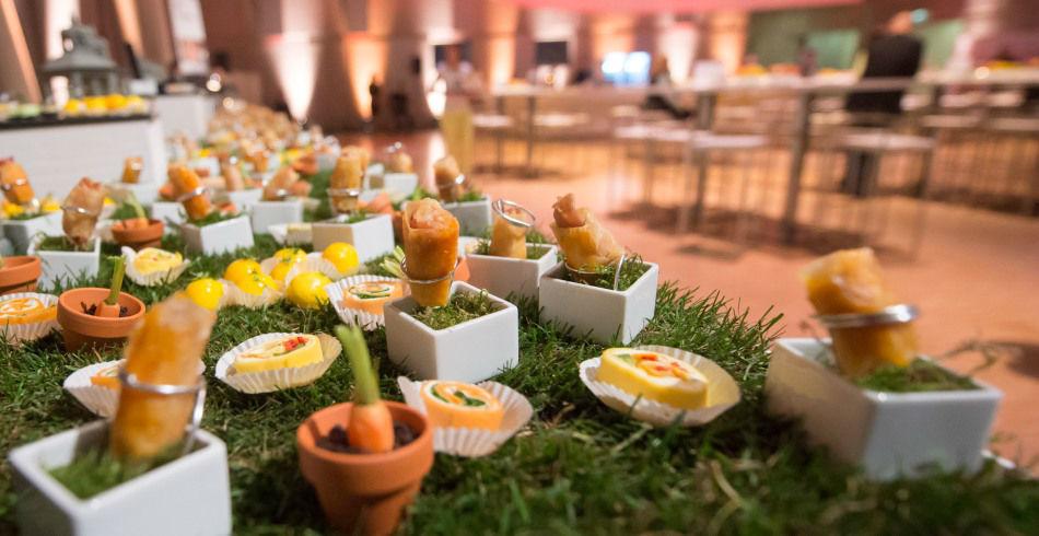 Beispiel: Fingerfood, Foto: Rauschenberger Eventcatering.
