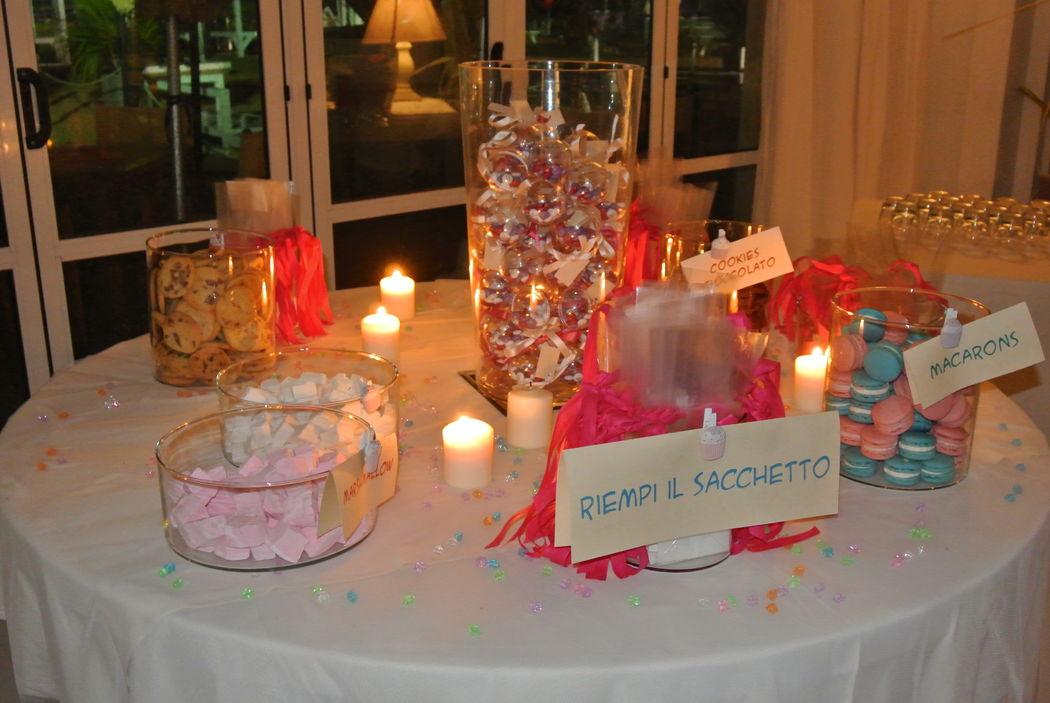 Matrimonio al mare - Fil rouge Ibiza - Candy Bar
