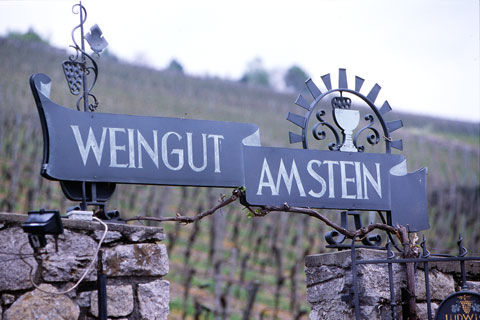 Beispiel: Eingang, Foto: Weingut am Stein.