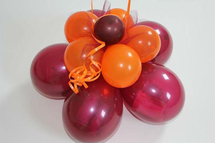 Beispiel: Ballon Blume, Foto: Airmotion - Ihr Ballonshop.