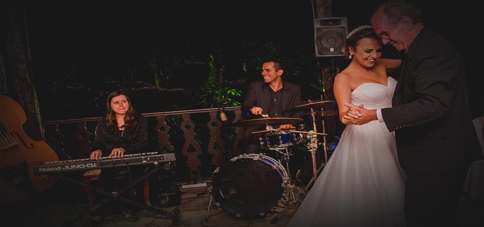 Banda para casamento - Casa da Fazenda - Morumbi.